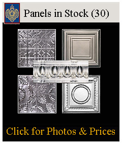 Tin Panels in Stock at Imperial